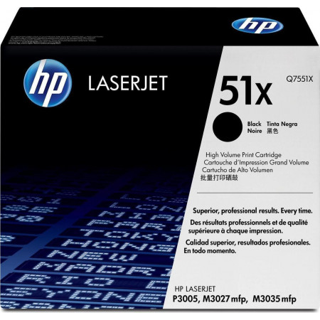 Toner HP 51X (Q7551X)