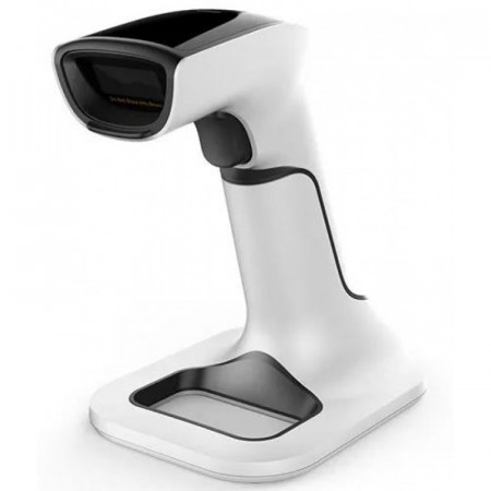 Aσύρματο Barcode Laser Scanner 2D με Βάση Φόρτισης